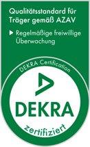 Dekra zertifizier - Qualitätsstandard für Träger gemäß AZAV