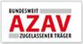 AZAV Bundesweit zugelassener Träger