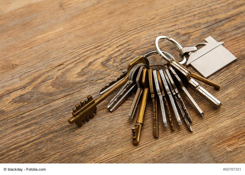 Ein Schlüsselbund als Sinnbild für die Aufgaben eines Facility Managers
