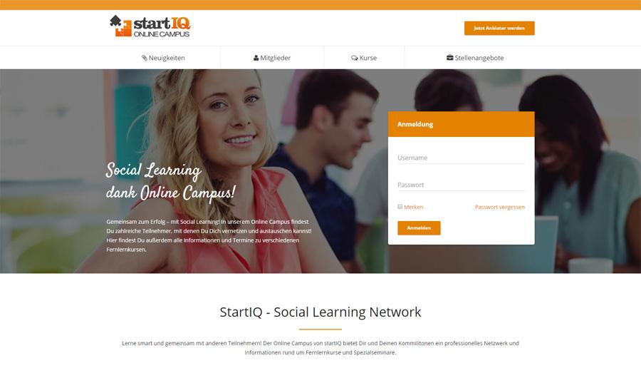lebenslanger Zugang zum Online Campus mit bereitgestellten Onlinevorlesungen und Zusatzskripten