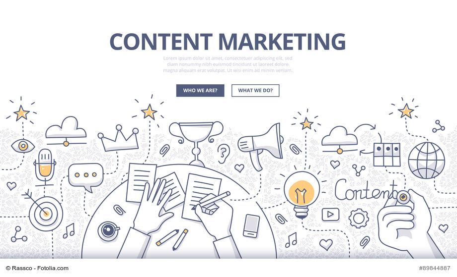 Um Content Marketing im Unternehmen zu etablieren braucht es vor allem die richtige Strategie und Struktur.