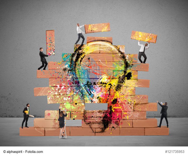 Design-Management: eine visuelle Bildsprache, die hervorsticht.