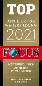 TOP Anbieter für Weiterbildung 2021